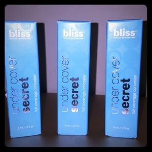 Bliss under cover secret full coverage concealer